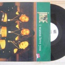 Discos de vinilo: JADE - I WANNA LOVE YOU - MAXISINGLE 33 - UK 1992 - GIANT. Lote 119202615