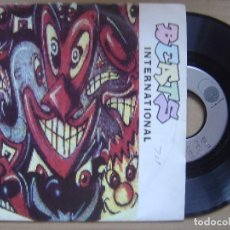 Disques de vinyle: BEATS INTERNATIONAL - DUB BE GOOD TO ME + INVASION - SINGLE GO BEAT - 1989. Lote 119203531