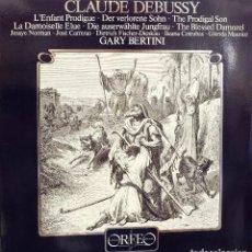 Dischi in vinile: CLAUDE DEBUSSY - L´ENFANT PRODIGUE - GARY BERTINI *. Lote 119206207