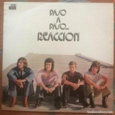 """Discos de vinilo: REACCION """"PASO A PASO"""" LP 1973 DECCA POPSIKE SUNSHINE. Lote 119209015"""