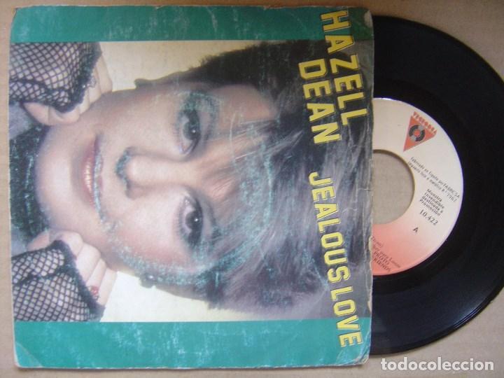 HAZELL DEAN - JEALOUS LOVE + STAY IN MY LIFE - SINGLE PROMOCIONAL VICTORIA - 1984 (Música - Discos de Vinilo - Maxi Singles - Pop - Rock - New Wave Internacional de los 80)