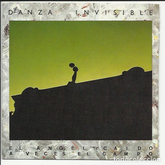 DANZA INVISIBLE SG ARIOLA 1985 EL ANGEL CAIDO/ A VECES EL CAMPO PROMO (Música - Discos - Singles Vinilo - Grupos Españoles de los 70 y 80)