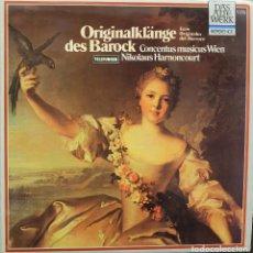 Discos de vinilo: ECOS ORIGINALES DEL BARROCO - NIKOLAUS HARNONCOURT *. Lote 119216795