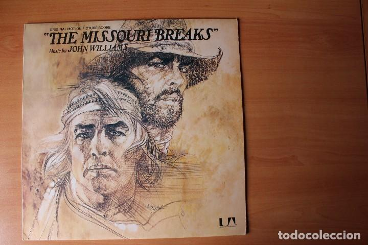 'THE MISSOURI BREAKS' BSO JOHN WILLIAMS LP UNITED ARTIST USA (Música - Discos - LP Vinilo - Bandas Sonoras y Música de Actores )