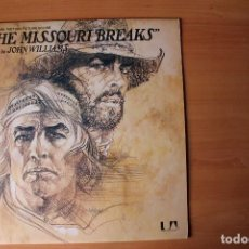 Discos de vinilo: 'THE MISSOURI BREAKS' BSO JOHN WILLIAMS LP UNITED ARTIST USA. Lote 119219355