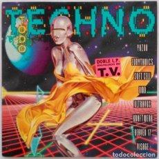 Discos de vinilo: VARIOUS ?– TODO TECHNO 1992 ¡¡¡SOLO EL DISCO 2¡¡PORTADA Y VINILO EN BUEN ESTADO. Lote 119221751