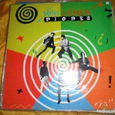 Discos de vinilo: PIORES. SOÑOS LISERXICOS. IBEROFON, 1991. CON ENCARTE. IMPECABLE. Lote 119223019
