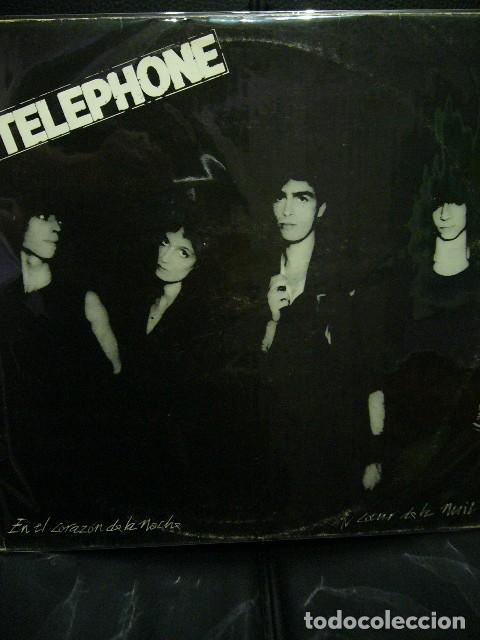 TELEPHONE AU COEUR DE LA NUIT EN EL CORAZON DE LA NOCHE LP SUPER RAREZA 1980 NEW WAVE PUNK ROCK (Música - Discos de Vinilo - EPs - Pop - Rock - New Wave Extranjero de los 80)