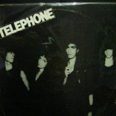 Discos de vinilo: TELEPHONE AU COEUR DE LA NUIT EN EL CORAZON DE LA NOCHE LP SUPER RAREZA 1980 NEW WAVE PUNK ROCK. Lote 119236459
