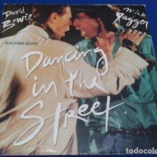 Discos de vinilo: VINILO MAXI SINGLE 45 RPM DAVID BOWIE & MICK GAGGER ( DANCING IN THE STREET ) 1985 EMI ESPAÑA. Lote 119237047