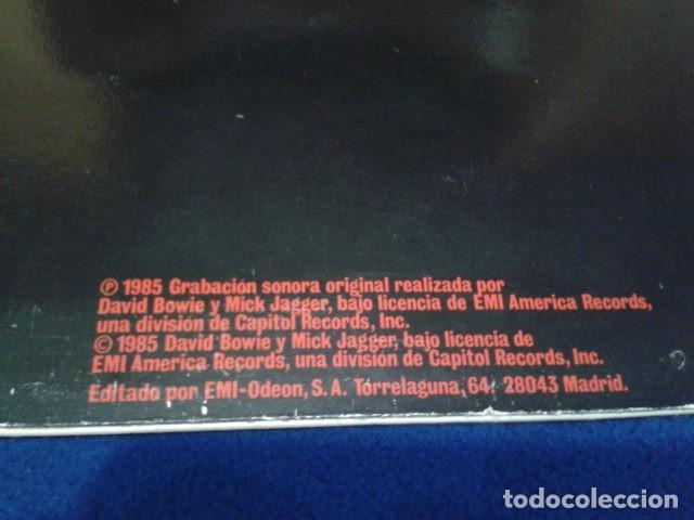 Discos de vinilo: VINILO MAXI SINGLE 45 RPM DAVID BOWIE & MICK GAGGER ( DANCING IN THE STREET ) 1985 EMI ESPAÑA - Foto 3 - 119237047