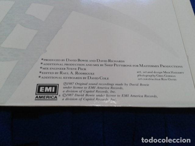 Discos de vinilo: VINILO MAXI SINGLE 45 RPM DAVID BOWIE (DAY-IN DAY- OUT EXTENDED DANCE MIX ) 1987 EMI USA - Foto 5 - 119237235