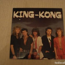 Discos de vinilo: HEAVY METAL LP KING KONG. Lote 119237427