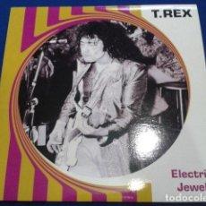 Discos de vinilo: LP VINILO T-REX ( ELECTRIC JEWELS ) 2007 GET BACK ITALY . Lote 119238727