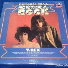 Discos de vinilo: LP VINILO T-REX ( HISTORIA DE LA MUSICA ROCK Nº 13 + REVISTA ORBIS ) 1982 POLYDOR. Lote 119241435