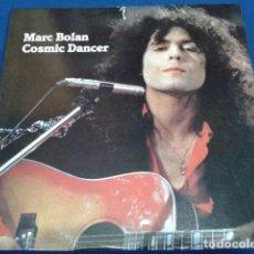 Discos de vinilo: LP VINILO MARC BOLAN ( COSMIC DANCER ) 1984 A PREHISTORIC T-REX. Lote 119242139