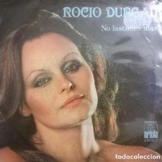 Discos de vinilo: ROCIO DURCAL– NO LASTIMES MÁS - SINGLE SPAIN 1979. Lote 119255555