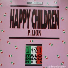 Discos de vinil: P. LION - HAPPY CHILDREN (REMIX '88) - BCM RECORDS - B.C. 12-2107-40 GERMANY. Lote 119266259