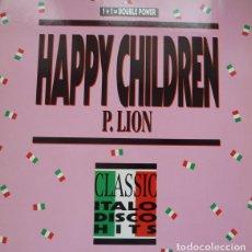 Dischi in vinile: P. LION - HAPPY CHILDREN (REMIX '88) - BCM RECORDS - B.C. 12-2107-40 GERMANY. Lote 119266259