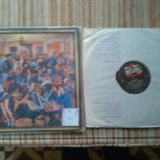 Disques de vinyle: THE RUTS-THE CRACK LP. Lote 119271899