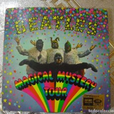 Discos de vinilo: THE BEATLES: MAGICAL M. TOUR STEREO-COMPLETO LABEL ODEON NEGRO-NO LO PIERDA. Lote 119272927