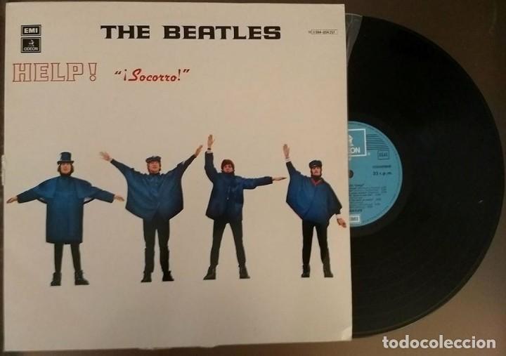LP BEATLES - HELP - ODEON 1965 (Música - Discos - LP Vinilo - Pop - Rock Extranjero de los 50 y 60)