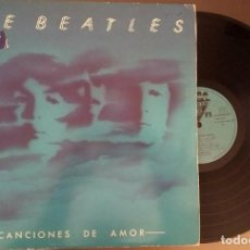 Discos de vinilo: BEATLES - LOVE SONGS - ODEON 1977 . VINILOS COMO NUEVOS . ENCARTE. Lote 119281731