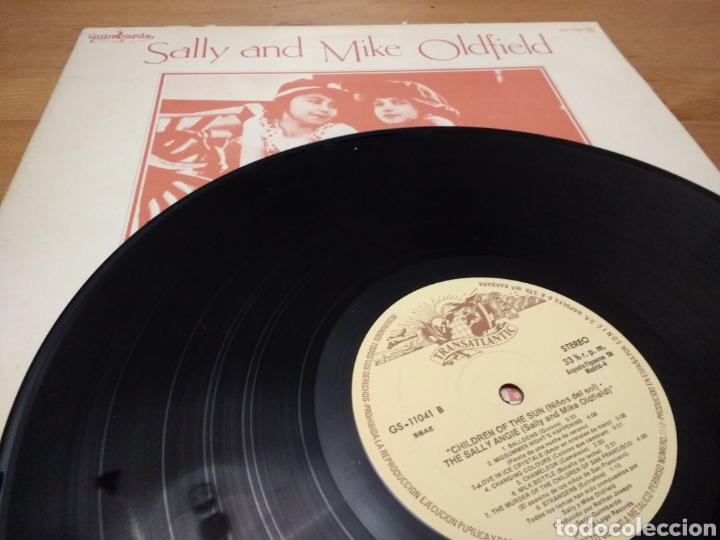 Discos de vinilo: Sally and Mike Oldfield - The Sallyangie - Children of the Sun - Foto 3 - 119281966