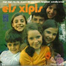 Discos de vinilo: ELS XIPIS - XEPI, XEPI, XIP, XIP / L'ESQUIMAL / L'ESTRELLA ERRANT / EL PARC DEL MEU BARRI - 1971. Lote 119283831