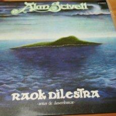 Discos de vinilo: ALAN STIVELL - RAOK DILESTRA (ANTES DE DESEMBARCAR). Lote 119284314