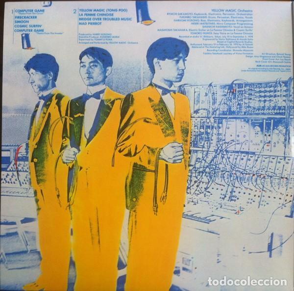 Discos de vinilo: YMO USA & Yellow Magic Orchestra * 2LP 180g. audiophile vinyl* Portada Gatefold * Folders *Funda PVC - Foto 9 - 174866914