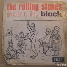 Vinyl-Schallplatten - The Rolling Stones – Paint It, Black - DECCA 1966 - SINGLE - P - 119290259