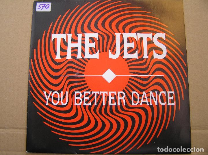 THE JETS – YOU BETTER DANCE - MCA RECORDS 1989 - SINGLE - P (Música - Discos - Singles Vinilo - Electrónica, Avantgarde y Experimental)