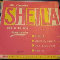 Discos de vinilo: ELLE S'APPELLE ELLE A 16 ANA. EDITION PHILIPS. MUY RARO. Lote 119293455