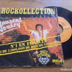 Discos de vinilo: LAURENT VOULZY. ROCKOLLECTION.. Lote 119296251