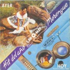 Discos de vinilo: LOS PAJAROS - HIT DEL AÑO MERENGUE - POLYDOR 01 - PROMOCIONAL - EDICION VENEZOLANA. Lote 119296511