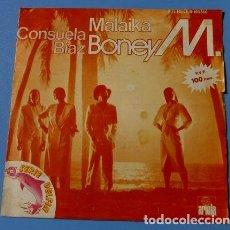 Discos de vinilo: BONEY M. (SINGLE 1981) MALAIKA - CONSUELA BIAZ. Lote 119305799