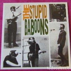 Discos de vinilo: THE STUPID BABOONS – WILL I BE TRUE - SINGLE ANIMAL RECORDS. Lote 119306379