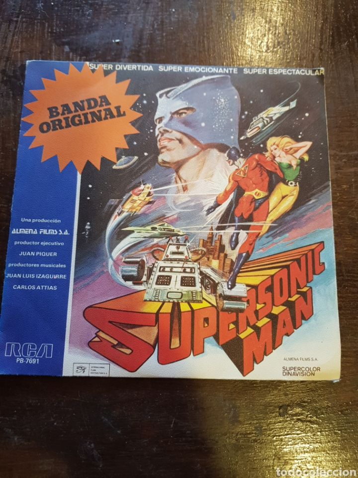 Banda Sonora Supersonic Man Single Vinilo R Sold
