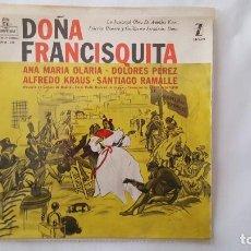Discos de vinilo: EP - DANIEL MONTORIO - DOÑA FRANCISQUITA - ZAFIRO/MONTILLA EPFM 133 - 1959. Lote 119327367