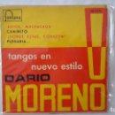 Discos de vinilo: EP - DARIO MORENO / TANGOS EN NUEVO ESTILO - ADIOS MUCHACHOS +3 - FONTANA 460 712 ME - 1960. Lote 119331727