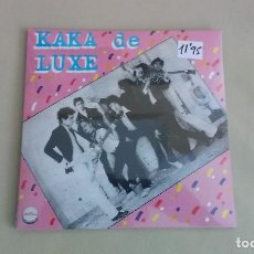 Discos de vinilo: EP KAKA DE LUXE KAKA DE LUXE EDICIÓN RECORD STORE DAY ESPAÑA RSD18 PUNK MOVIDA MADRILEÑA . Lote 124851004