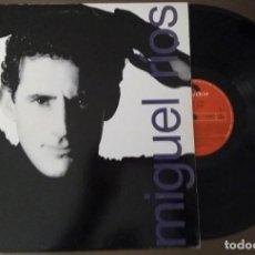 Discos de vinilo: LP MIGUEL RÍOS POLYDOR 1989. CONTIENE ENCARTE. Lote 119333555