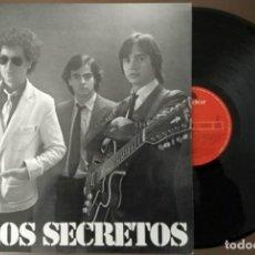 Discos de vinilo: LP LOS SECRETOS - POLYDOR 1981 - COMO NUEVO -PERFECTO ESTADO. Lote 119334559