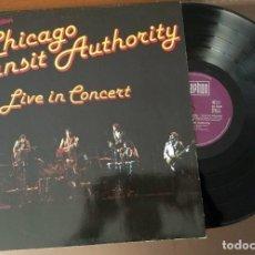 Discos de vinilo: LP CHICAGO - TRANSIT AUTHORITY LIVE IN CONCERT - 1978. Lote 119338991