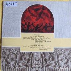 Discos de vinilo: LP - SAINT SAENS - EL CARNAVAL DE LOS ANIMALES / STRAVINSKY - EL PAJARO DE FUEGO (SPAIN, CID 1959. Lote 119361055
