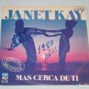 Discos de vinilo: JANET KAY *** SINGLE VINILO MUSICA AÑO 1980 *** EMI *** . Lote 119364683