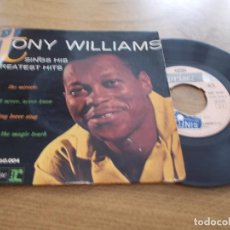 Discos de vinilo: TONY WILLIAMS. THE MIRACLE, YOU´LL NEVER,NEVER KNOW. SING LOVER SING. (YOU´VE GOT ) THE MAGIC TOUCH. Lote 119367187