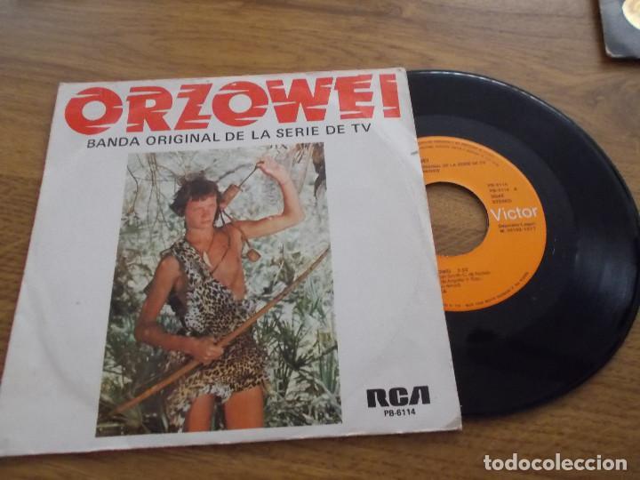 ORZOWEI. (Música - Discos - Singles Vinilo - Bandas Sonoras y Actores)