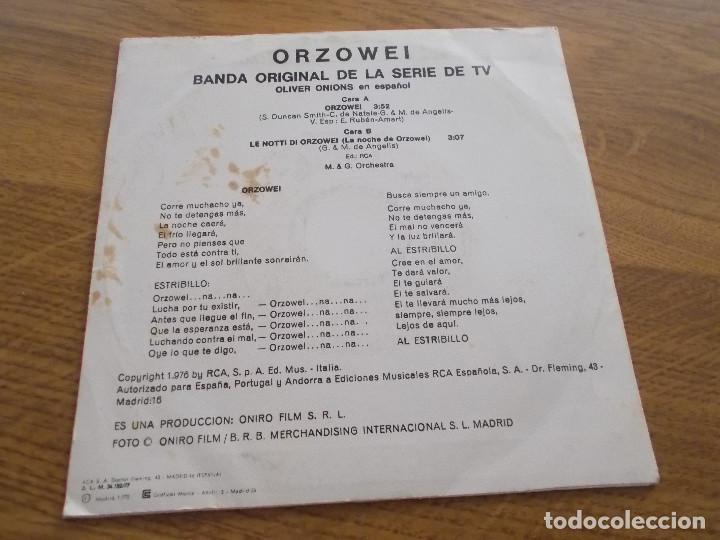 Discos de vinilo: ORZOWEI. - Foto 2 - 119368759